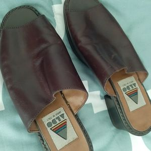 Aldo leather shoes in great shape